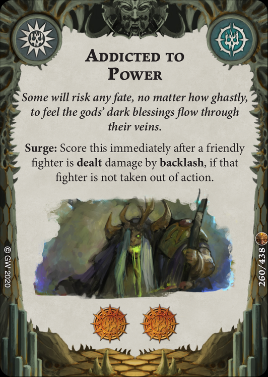 Addicted to Power card image - hover
