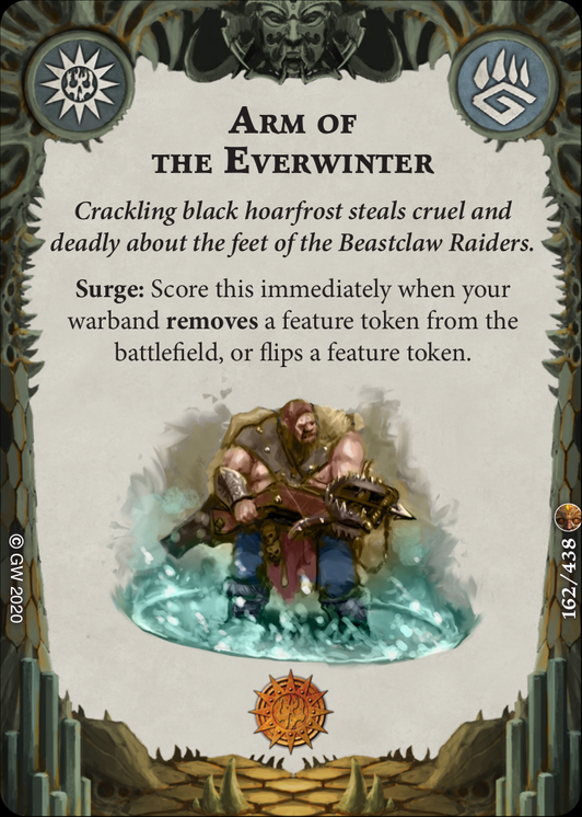 Arm of the Everwinter card image - hover