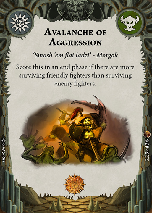 Avalanche of Aggression card image - hover