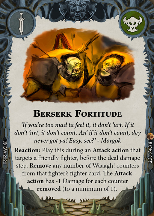 Berserk Fortitude card image - hover