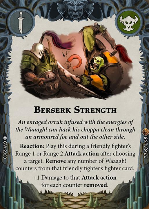 Berserk Strength card image - hover