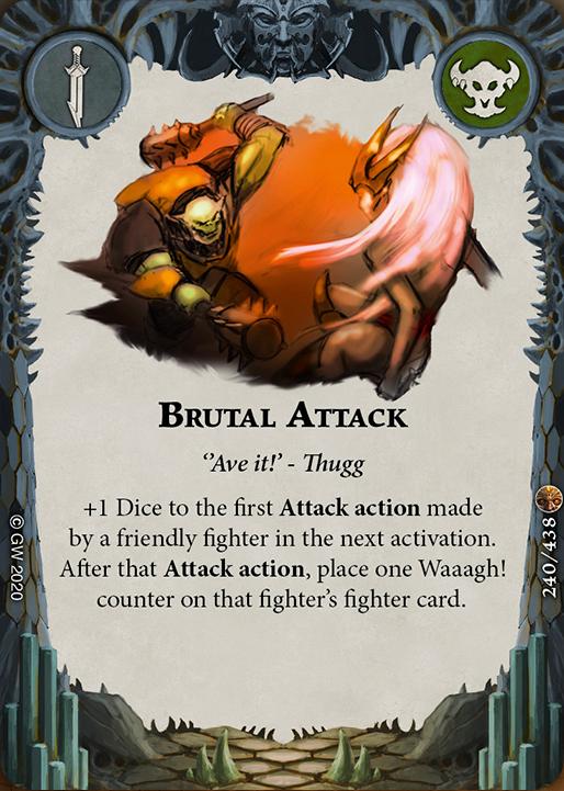 Brutal Attack card image - hover