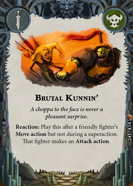 Brutal Kunnin' card image - hover