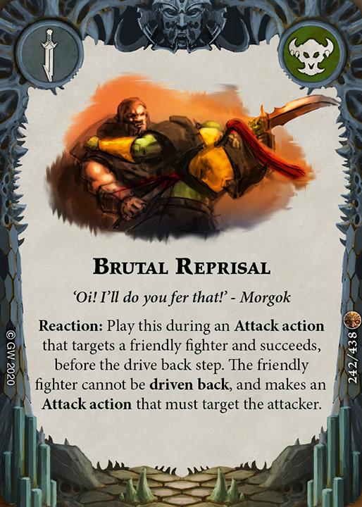 Brutal Reprisal card image - hover