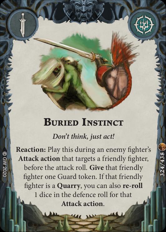Buried Instinct card image - hover