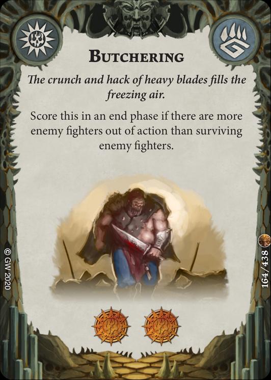 Butchering card image - hover