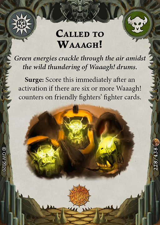 Called to Waaagh! card image - hover