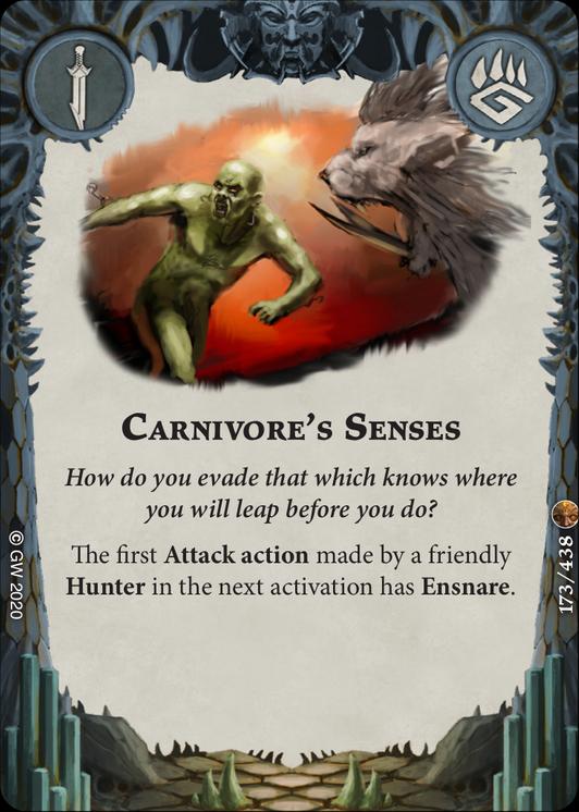 Carnivore Senses card image - hover