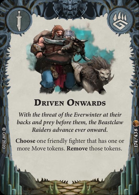 Driven Onwards card image - hover