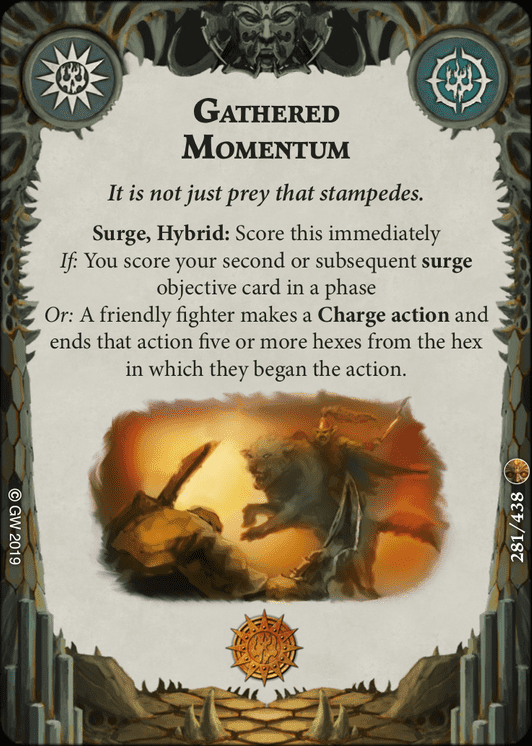 Gathered Momentum card image - hover