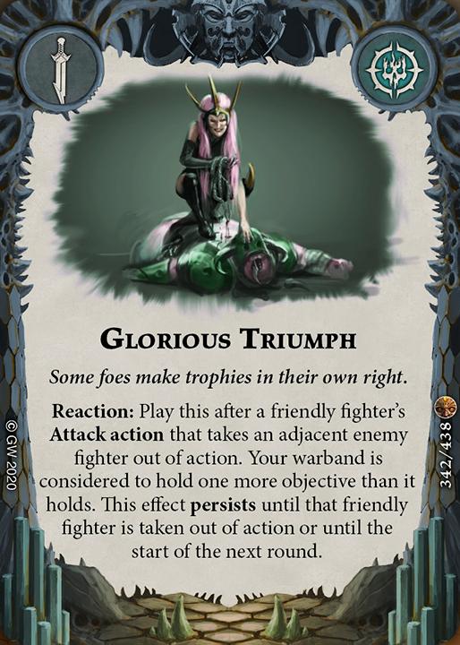 Karta Glorious Triumph