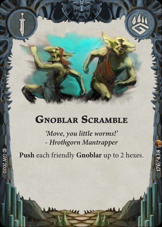 Gnoblar Scramble card image - hover