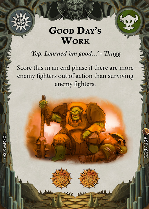 Good Day's Work card image - hover
