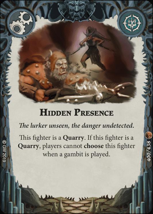 Hidden Presence card image - hover