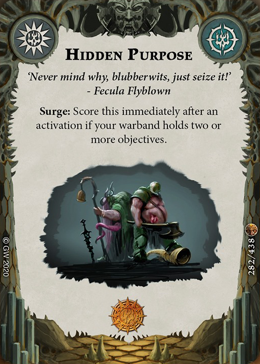 Hidden Purpose card image - hover