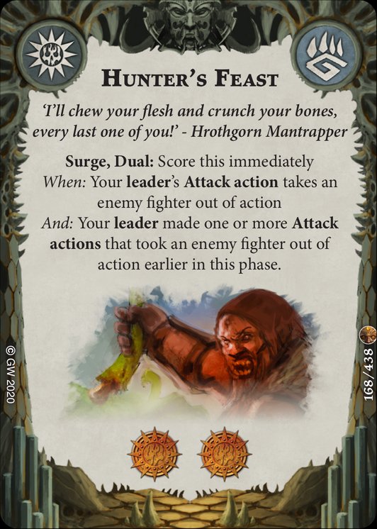 Hunter's Feast card image - hover