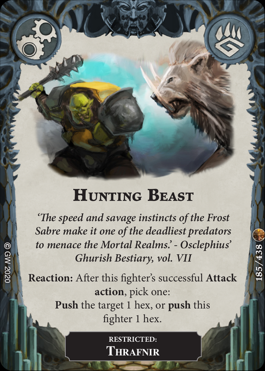 Hunting Beast card image - hover