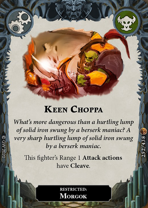 Keen Choppa card image - hover