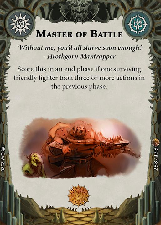 Master of Battle card image - hover