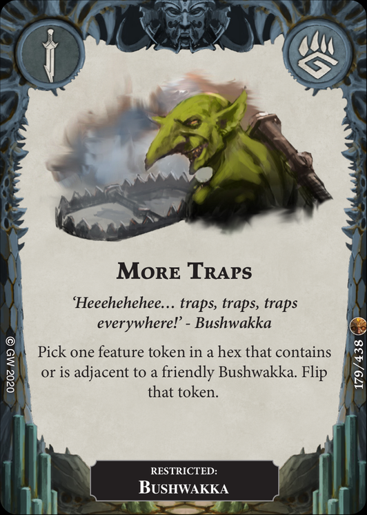 More Traps card image - hover