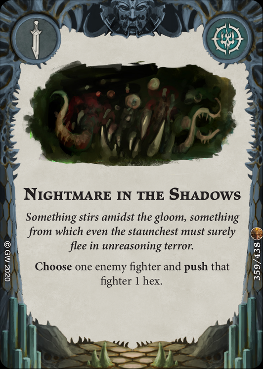 Nightmare in the Shadows card image - hover