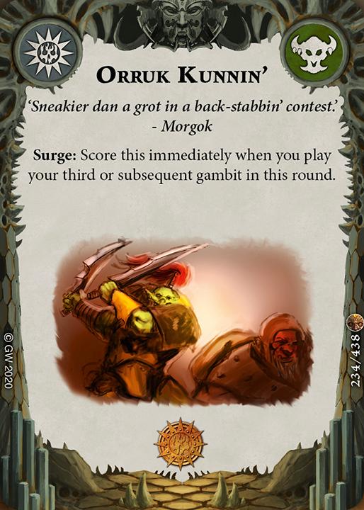 Orruk Kunnin' card image - hover