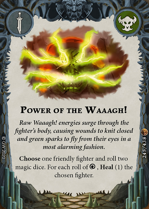 Power of the Waaagh! card image - hover