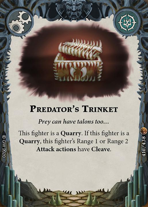 Predator's Trinket card image - hover