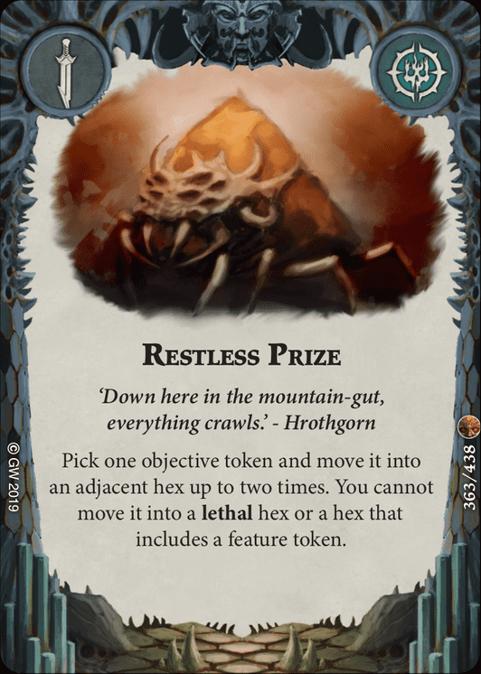 Restless Prize card image - hover