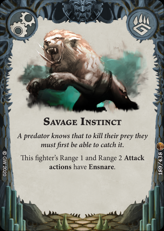 Savage Instinct card image - hover