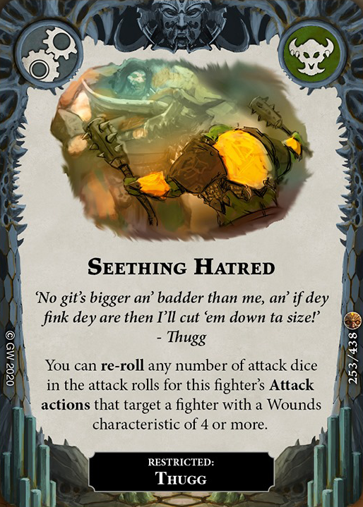 Seething Hatred card image - hover