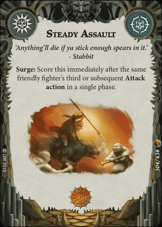 Steady Assault card image - hover