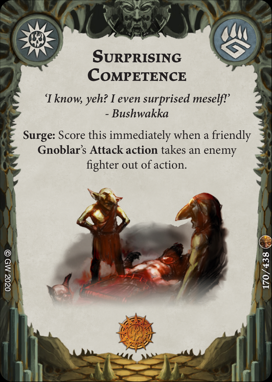Surprising Competence card image - hover