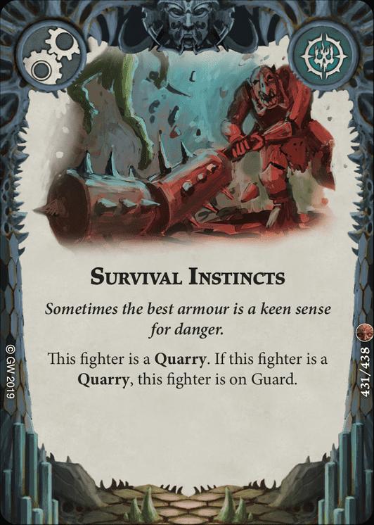 Survival Instincts card image - hover