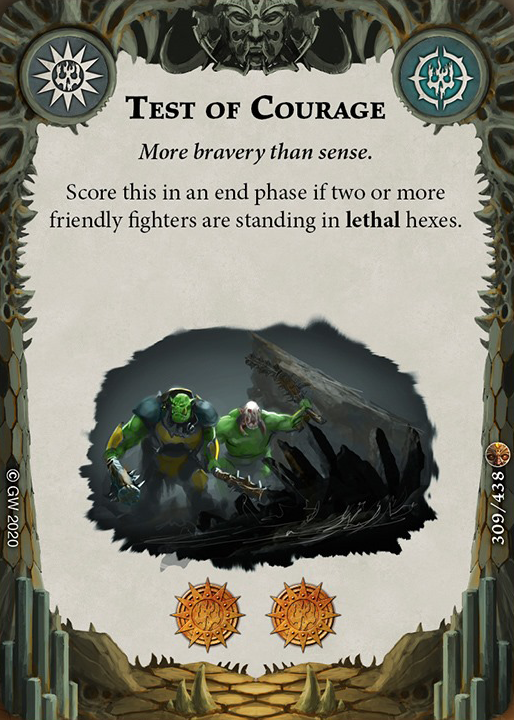 Test of Courage card image - hover
