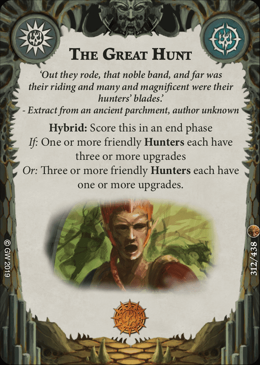 The Great Hunt card image - hover