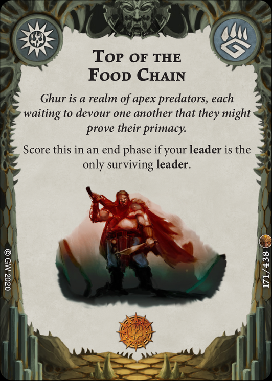 Top of the Food Chain card image - hover