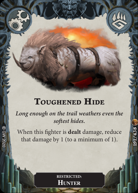 Toughened Hide card image - hover