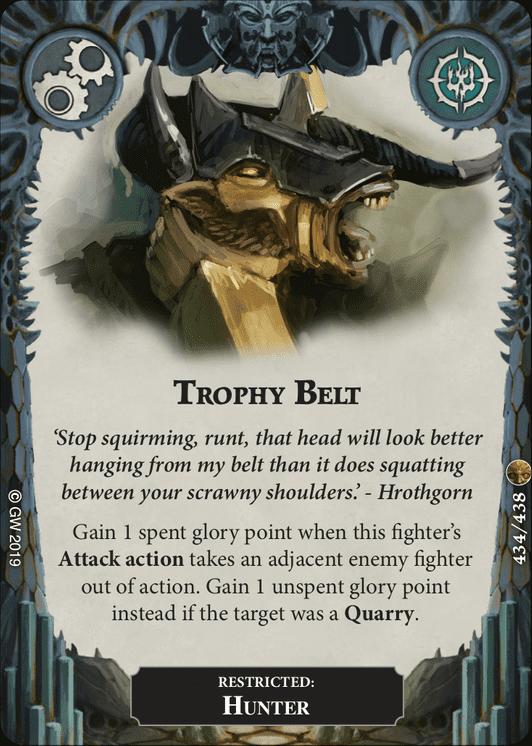 Trophy Belt card image - hover