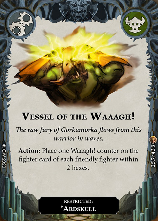 Vessel of the Waaagh! card image - hover