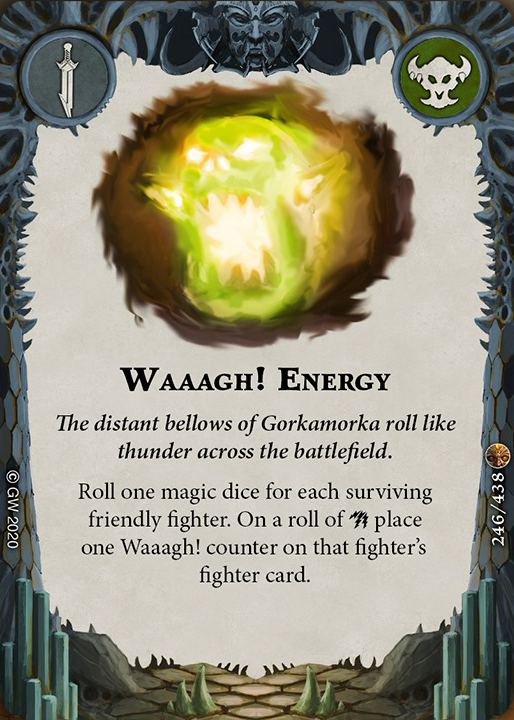Waaagh! Energy card image - hover