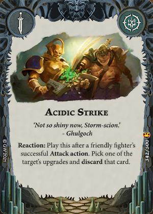 Acidic Strike card image - hover
