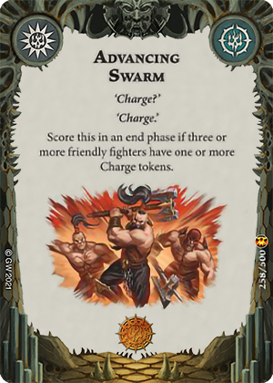 Advancing Swarm card image - hover