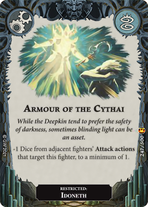 Armour of the Cythai card image - hover