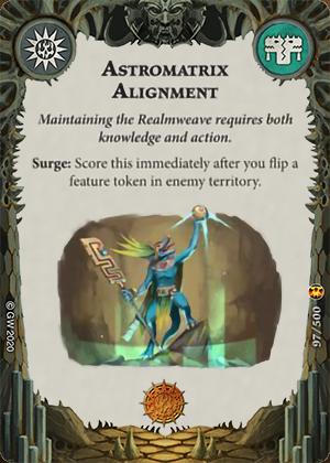Astromatrix Alignment card image - hover