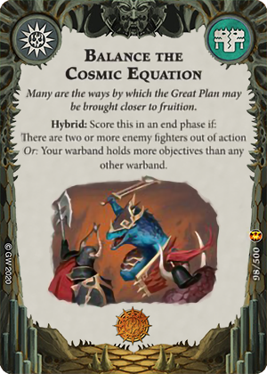 Balance the Cosmic Equation card image - hover