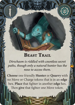 Beast Trail card image - hover
