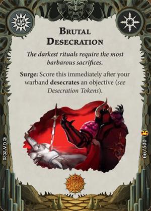 Brutal Desecration card image - hover