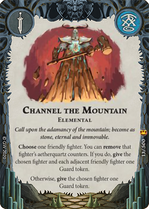 Channel the Mountain card image - hover