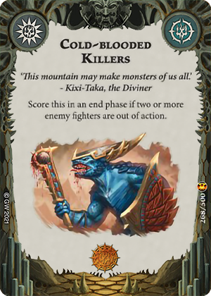 Cold-blooded Killers card image - hover